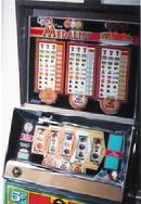 Bally slot machines, antique electromechanical slot machines, california antique slots